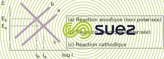 augmentation potentiel corrosion - cinétique des réactions de corrosion