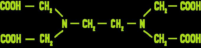 Formule : EDTA et ses sels de sodium