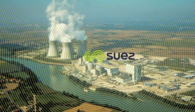 Tours refroidissement centrale nucléaire