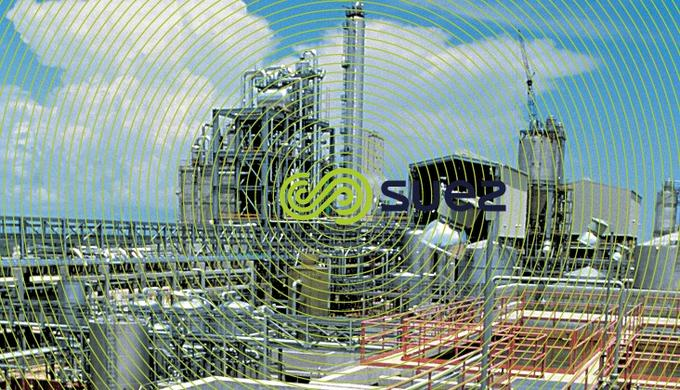 Usine production eau process -traitement influents raffinerie Pemex