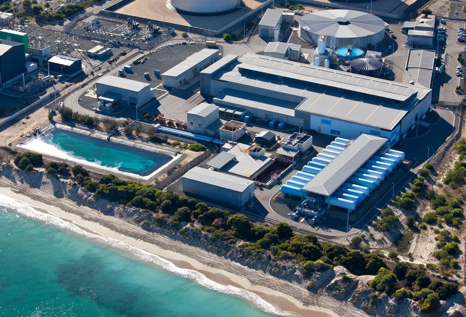 Perth usine dessalement osmose inverse