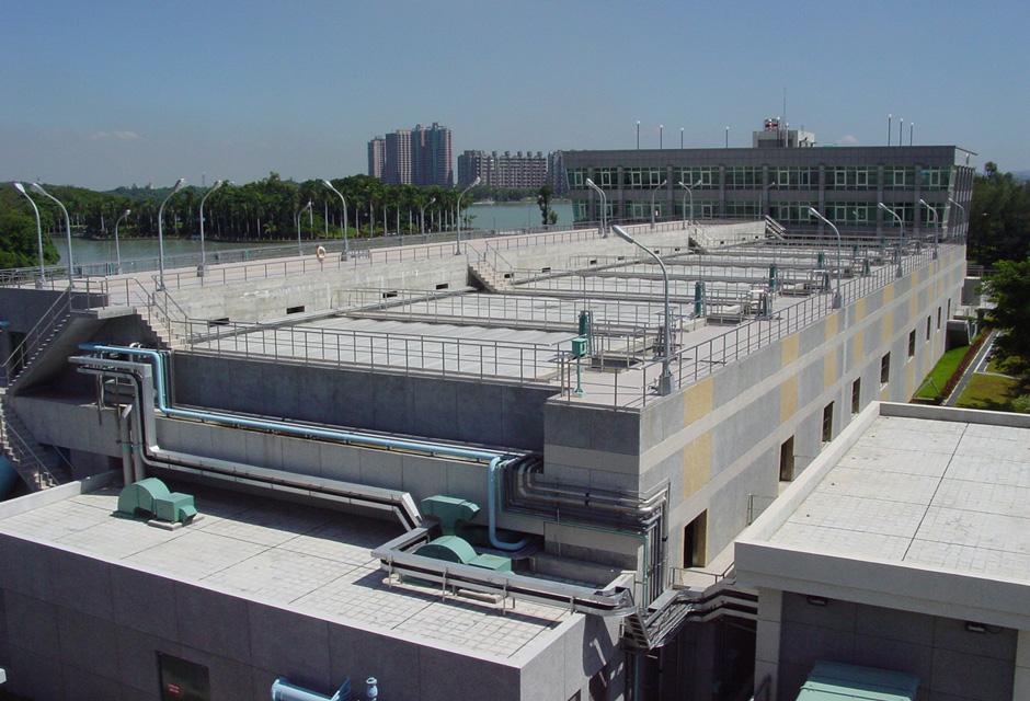 usine de production d'eau potable Chenchin Lake