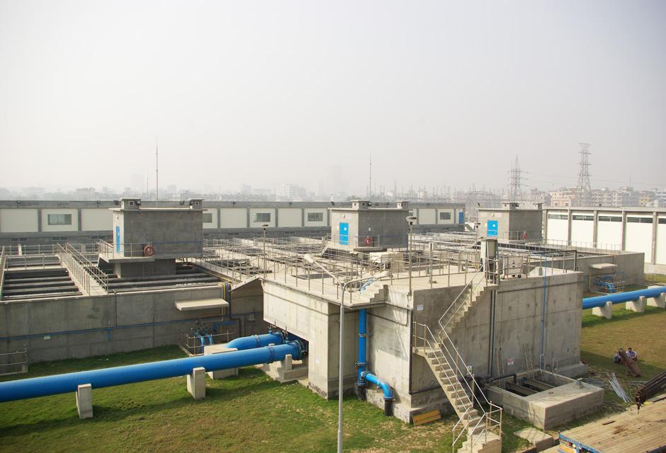 usine de production d'eau potable Saidabad