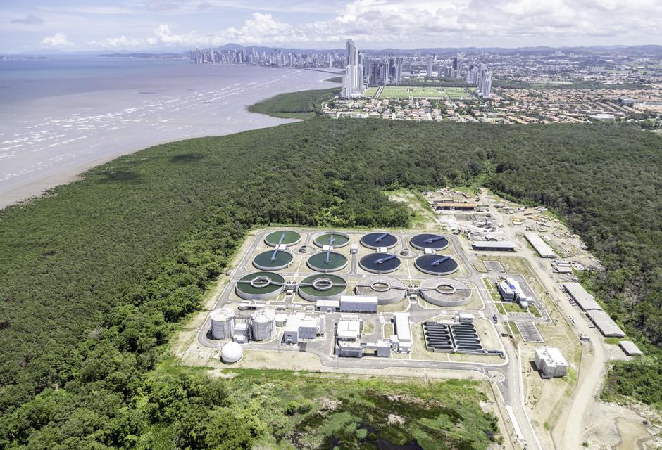 station épuration eaux usées Panama