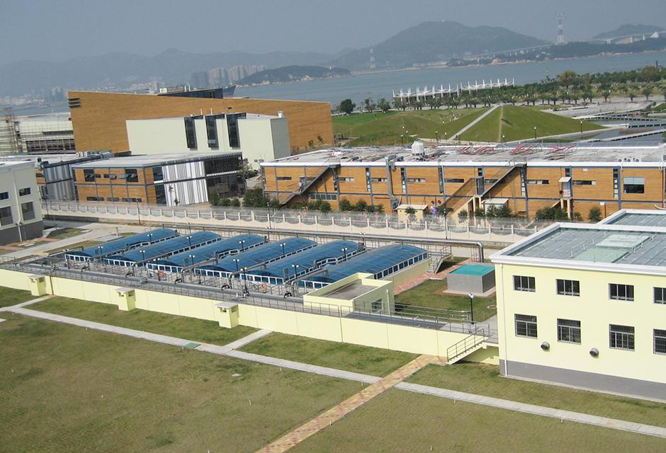 station de traitement des eaux usées Xiamen