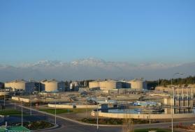 La Farfana usine de traitement des eaux usées