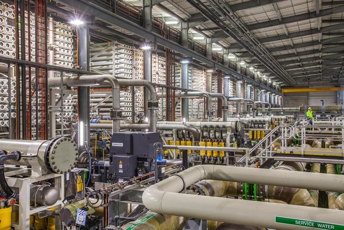 Usine de dessalement de Barcelone