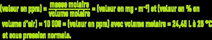 Formule : la réglementation des odeurs - VLE & VME