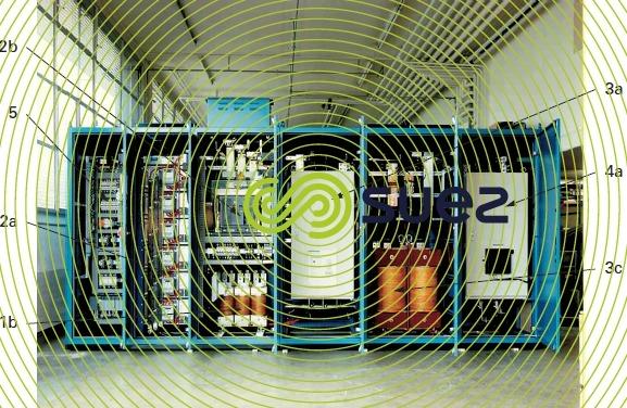 ozoneur alimentation électrique type FP. Convertisseur 6 impulsions transformateur HT