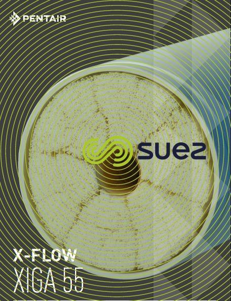 Module X-Flow de la Ste Pentair membranes de clarification