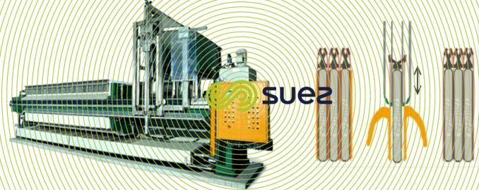 filtre-presse automatique racleurs contre-racleurs