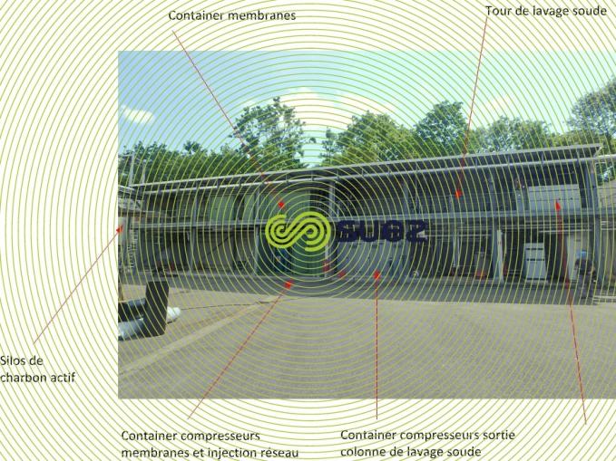 unité production bio methane Strasbourg