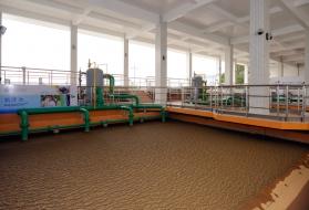 une flottation rapide grâce au floculateur hydraulique – Aquadaf™