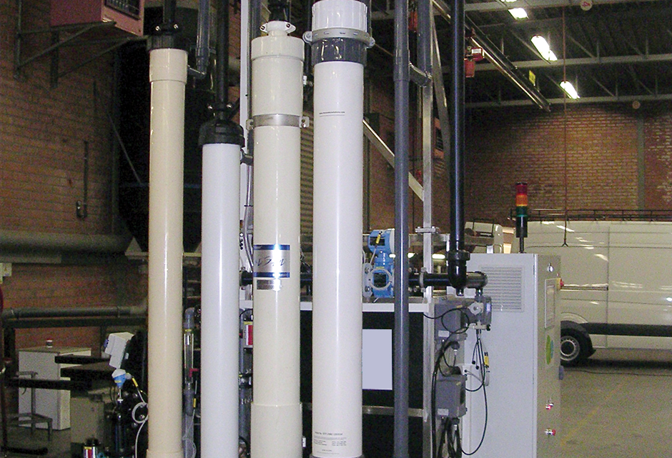 modules d'ultrafiltration in/out pressurisées -Ultrazur Smartrack