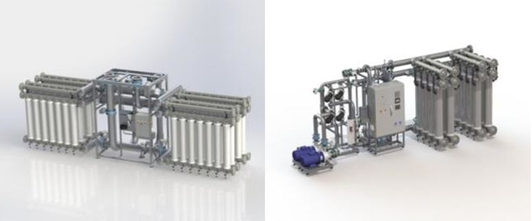 modules ultrafiltration in/out pressurisées – aquasource® M et aquasource® L