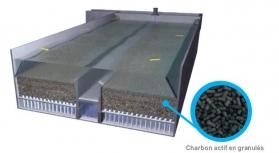 charbon actif en granulés - Carbazur