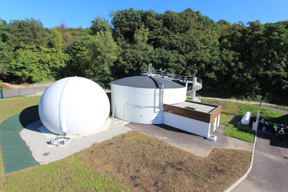 digestion stockage intégré du biogaz – Digelis Smart